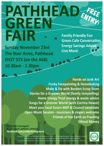 pathhead green fair - Sun 23 Nov