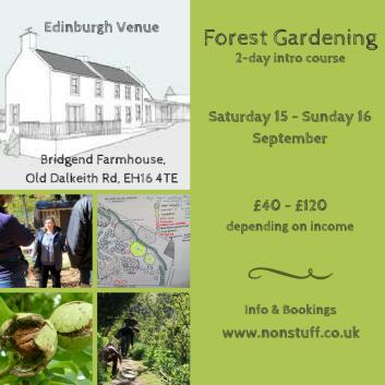 forest gardening Sep